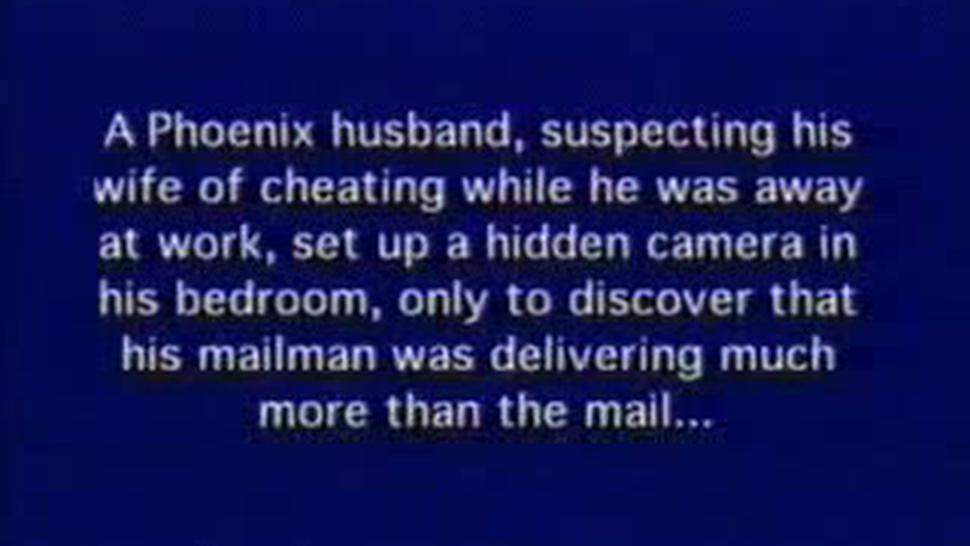 Cheating Wife - Cam Hidden By Suspecting Husband