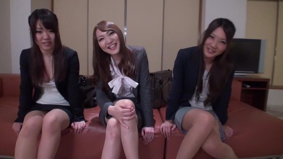 Three Office Ladies