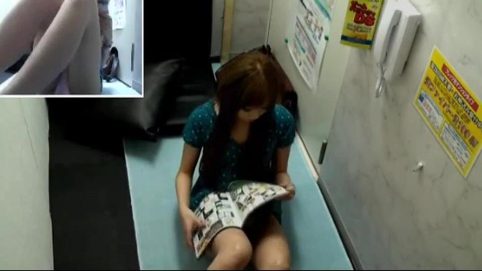 Japanese video room hidden cam