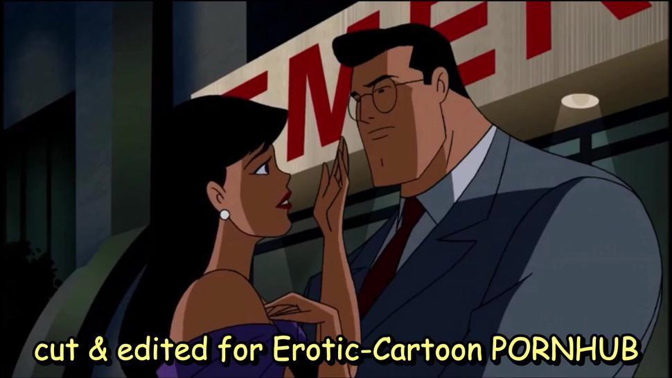 SUPERMAN BLOWJOB - Lois Lane licks penis of CLARK - LOIS LANE FELLATIO - Clark Kent oral sex Lois
