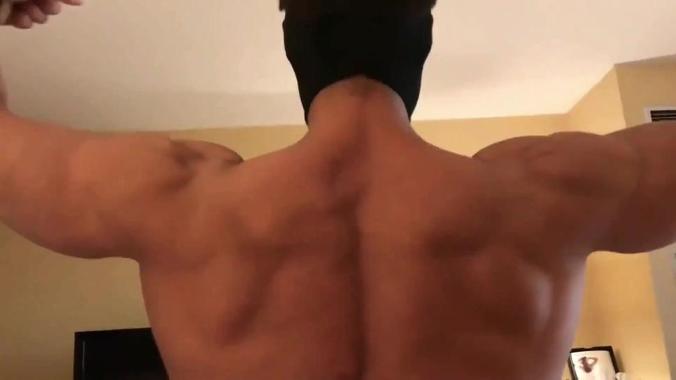Muscle worship and bicep adoration