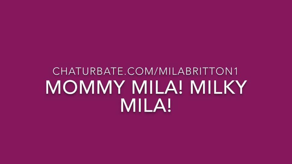 Mommy Mila - Breast Milk Lactation MILF