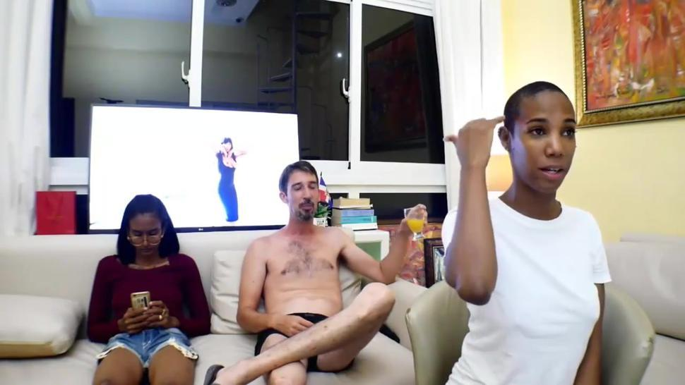 Hard anal pounding and ATM for short hair black whore live at sexycamx