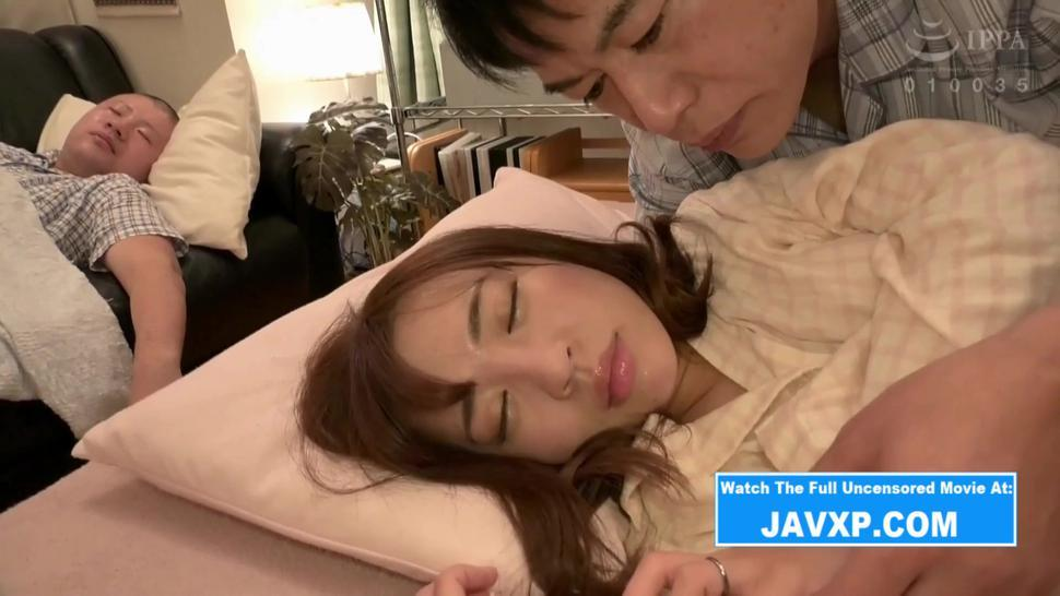 Hot Japanese Mother Gets Fucked At Night