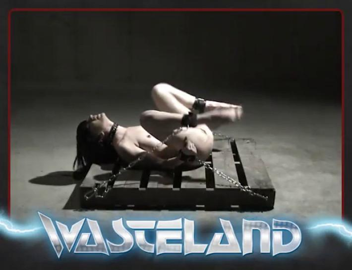 Wasteland Dungeon Sex And Submission - MaleDom ties up and fucks pretty gal