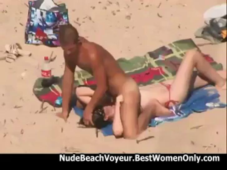 Couple Hot Fuck On Nude Beach Caugh By Hidden Cam