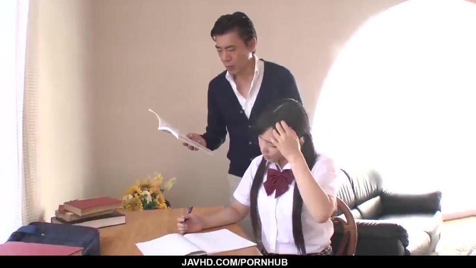 Yui Kasugano feels large dick cracking her wet vag - More at javhd netYui Kasugano feels large cock