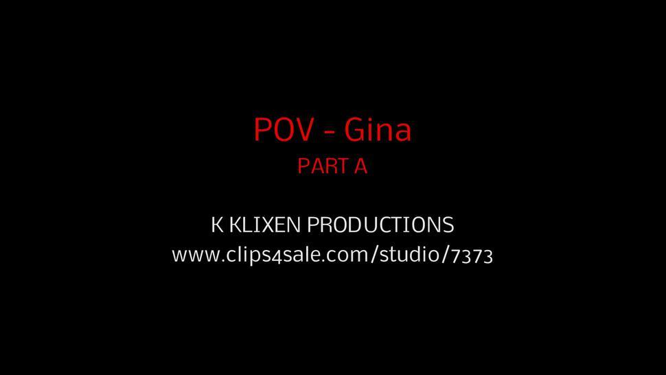 Gina Gerson Blowjob Pov Part 1
