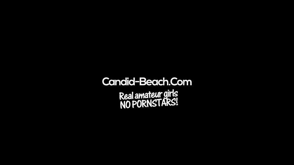 Voyeur NUDIST Beach Amateur Females Pussy Close-ups Video