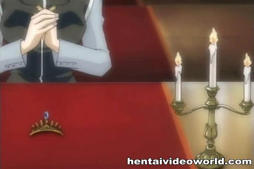 HENTAI VIDEO WORLD - Anima couple in steamy hentai sex