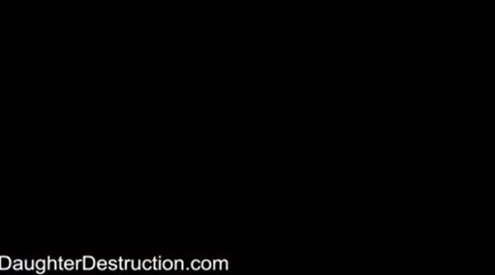 Cute daughter destruction - video 1