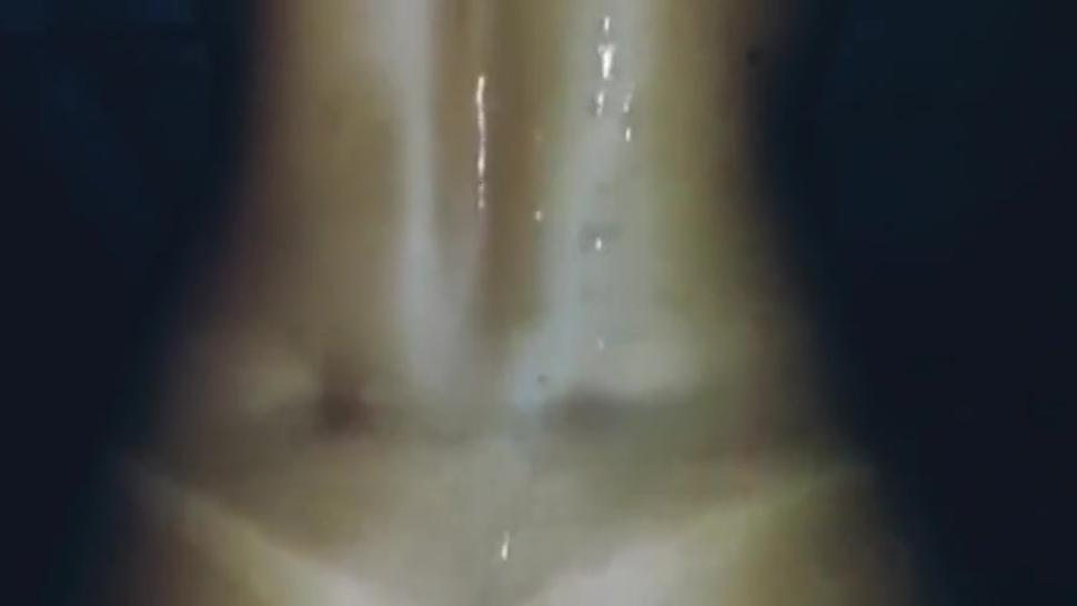 The Biggest Cumshot In The World On Tanned Girl Ass And Back