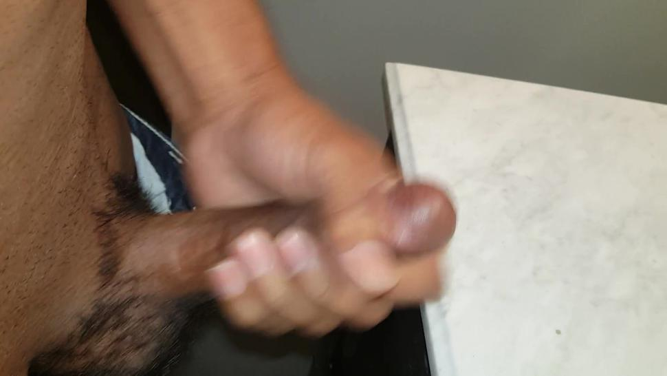 Jacking Off And Cumming In Stepmoms Basement. Stepsis Can Hear Me