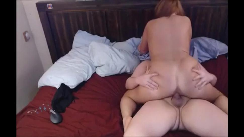 Big butt mature wife riding dick a the motel