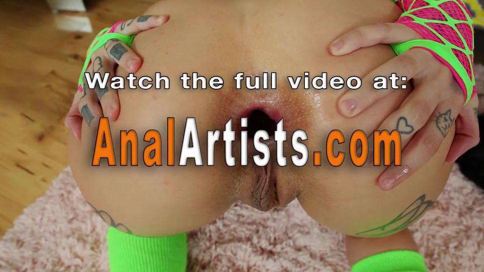 Anal lesbians licking and fingering