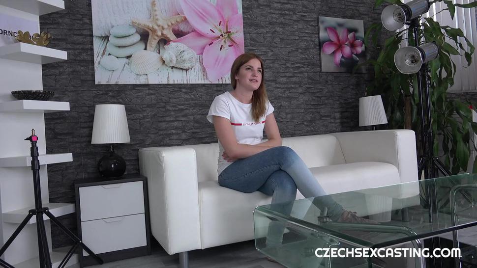 czech sex casting - kizzy sixx
