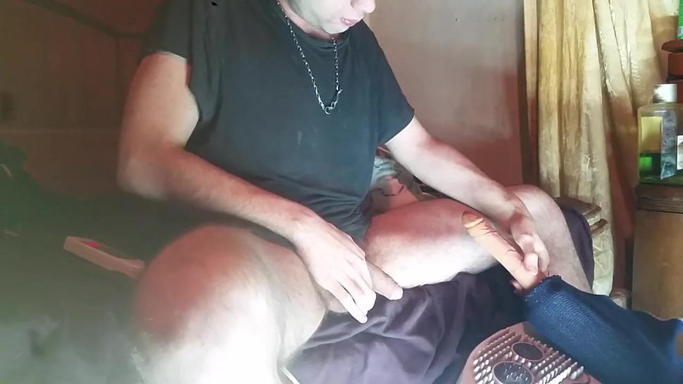 Screw Machine Self Suck Anal Orgasm Rough Brutal