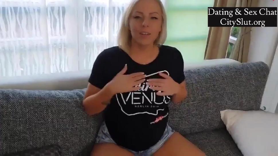 Hot Amateur Blonde Homemade Sex