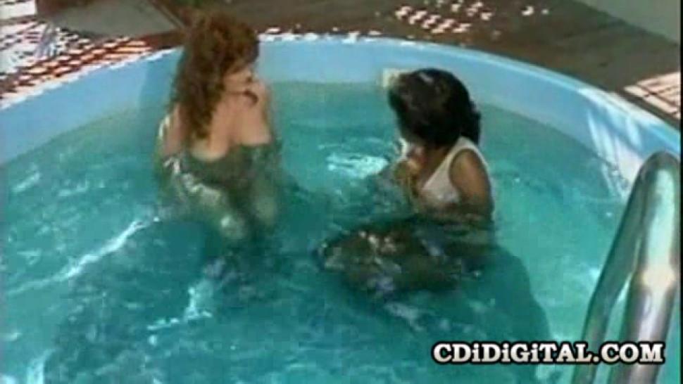 CDI DIGITAL - Ebony Ayes and Brandy Wine - vintage Lesbians