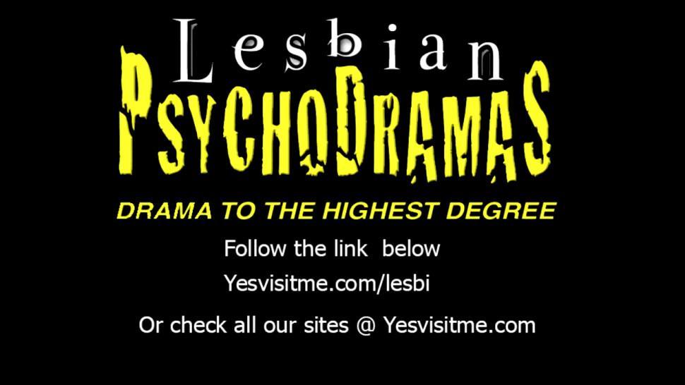Mature big tits lesbians Elexis Monroe and Karen Kougar moans load while on lesbian scissor sex