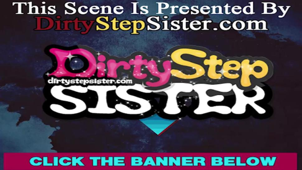DIRTYSTEPSISTER - Stepsister Christy West Caught Me Sniffing Her Panties