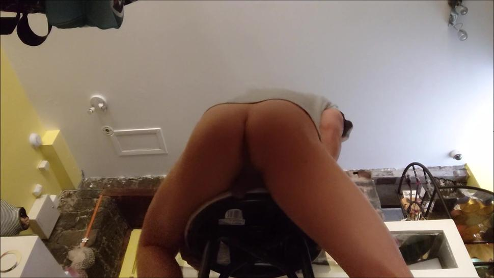 Bareback Deep Fucked by 2 Heay Load Dads, Pushing Huge Cum Loads Out Of My Asshole