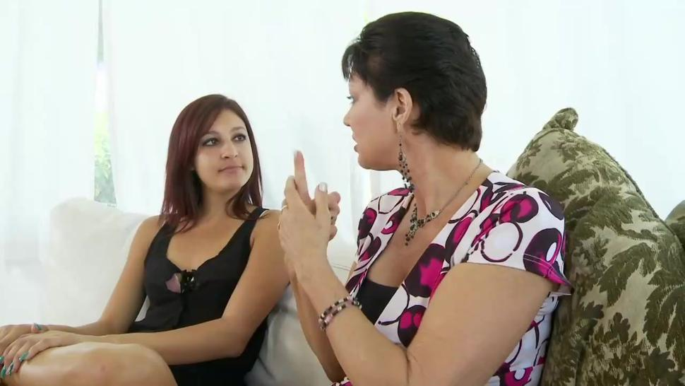 Nasty Step Family - Moms Teach Daughters