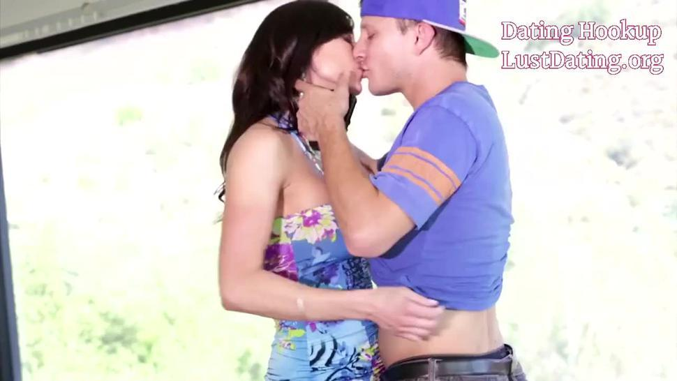 Gorgeous Busty Milf Kendra Lust Fucking With Young Guy