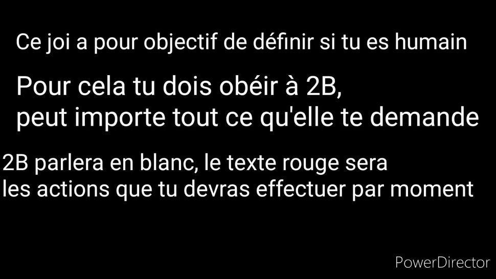 Hentai joi cei 2B fr (anal, cbt, piss play, futa)