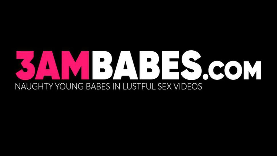 3AM BABES - Cute babe Sophie licked and toy stuffed by young lesbian