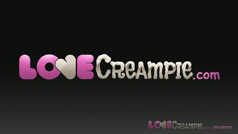 Love Creampie Busty POV teen lets you cum inside her sweet young pussy