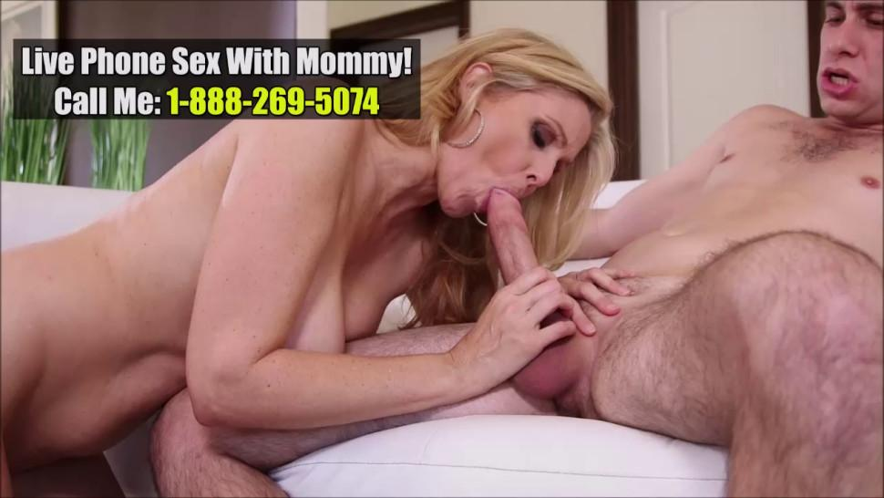 Mommy Teaches You How To Jerk Off