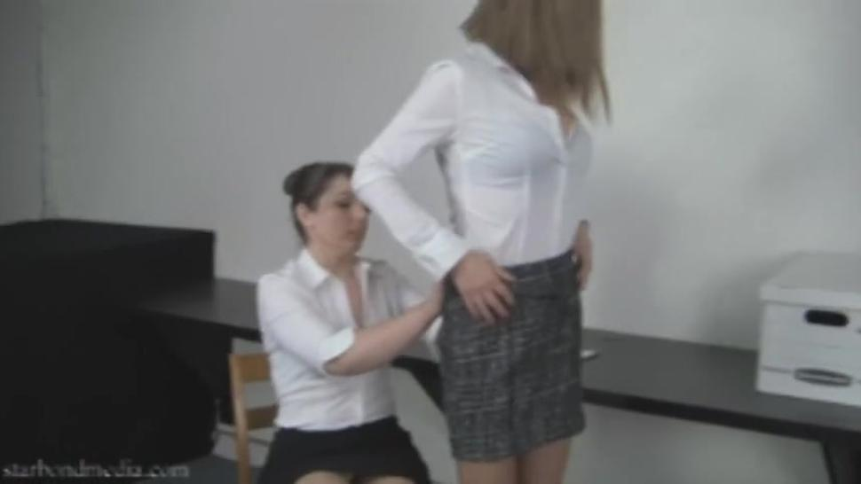 Office Romance - Lesbian Pantyhose Domination Liz Andrews Star Nine TRAILER