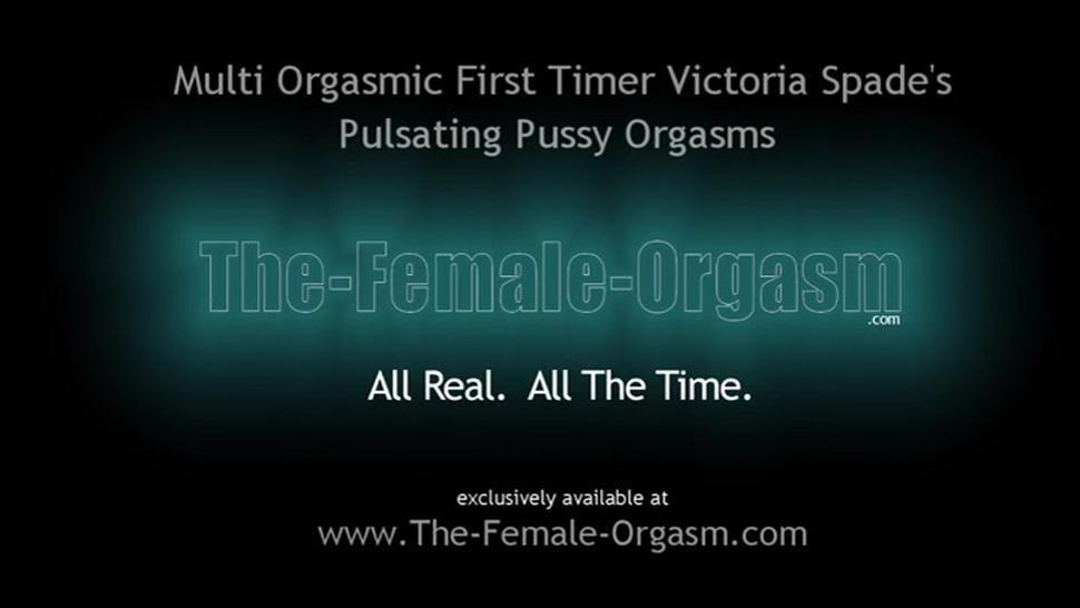 Newbie Canadian Coed First Real Female Masturbation to Orgasm Shoot