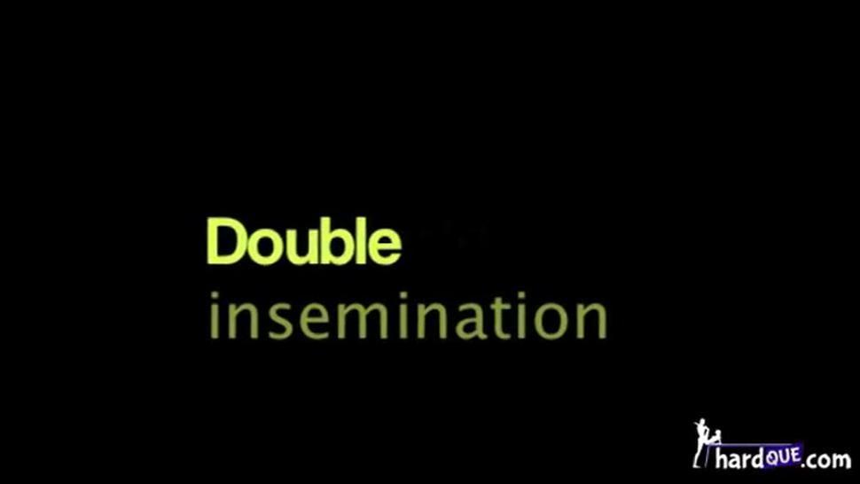 Krystal Boyd Double insemination double creampie