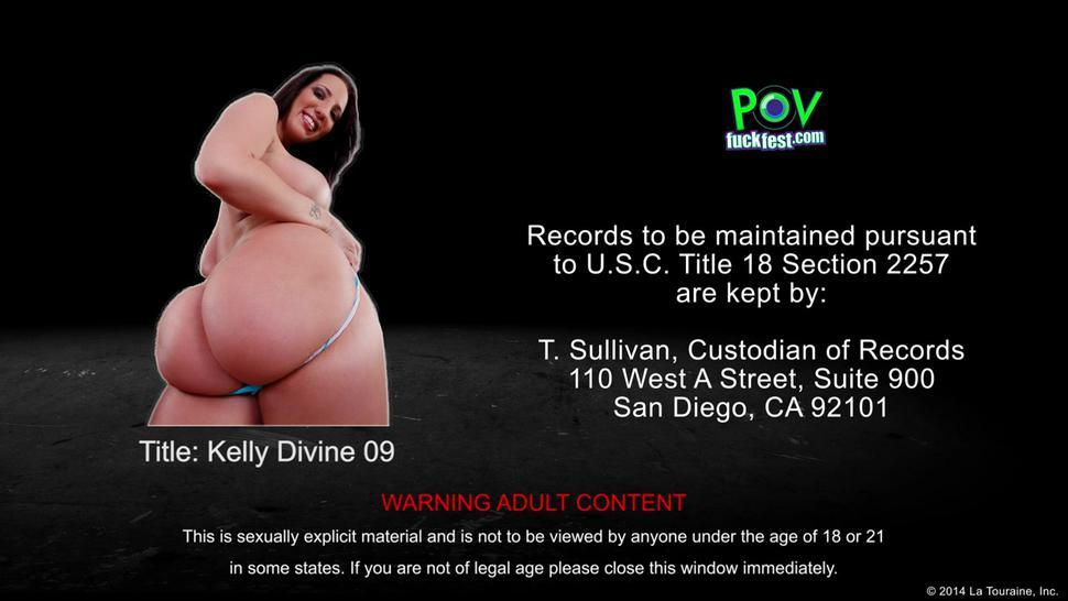 Brunette Kelly Divine Suck Dick In Pov Style
