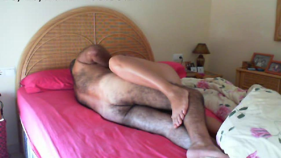 Russian MILF blonde copulates with dude for amateur vid