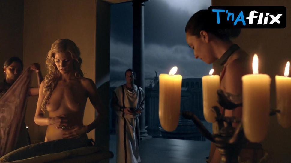 Viva Bianca Breasts Scene  in Spartacus