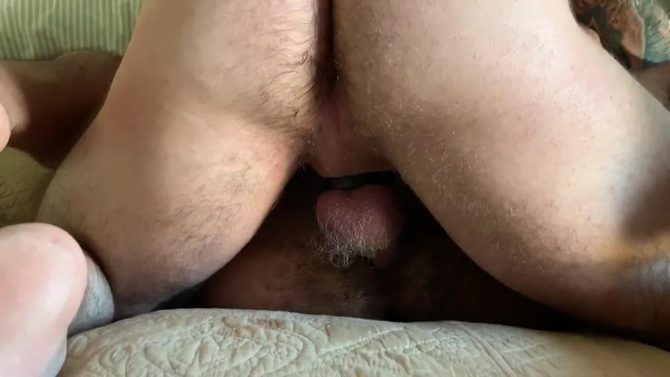 SEXY DADDY @DARYLRITCHER EAT HIS OWN CUM FROM MY HOLE