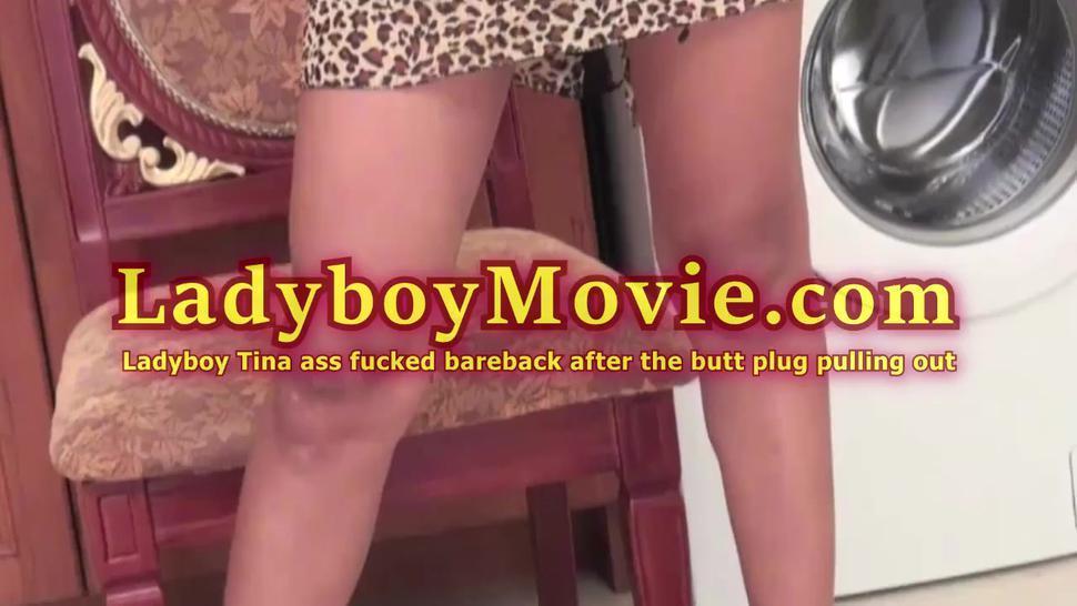 Ladyboy Tina Got Ass Fucked Bareback