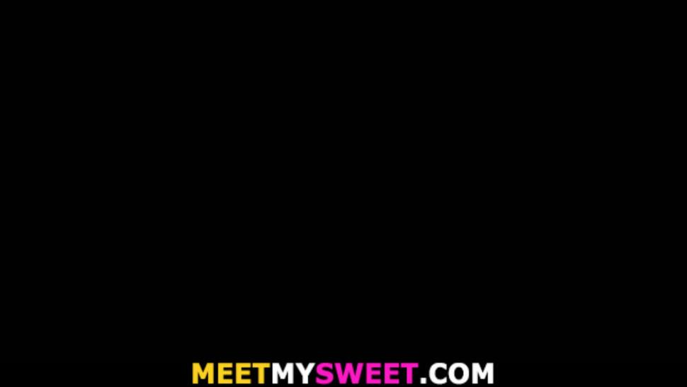 MEETMYSWEET - Family dinner leads to threesome sex