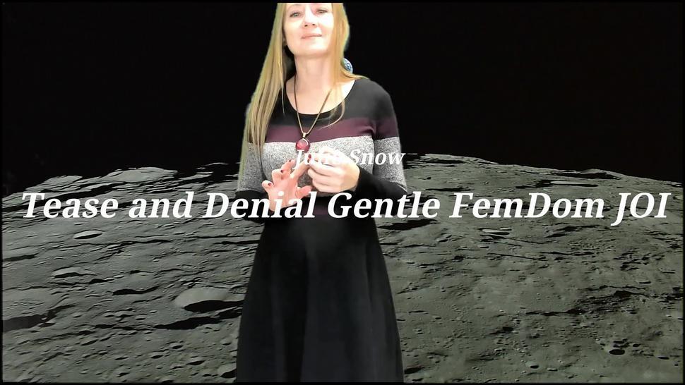 Tease and Denial Gentle FemDom JOI
