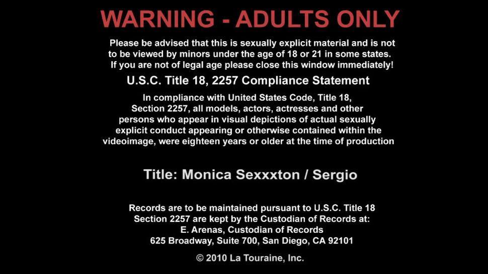 Attractive Monica Is Wild Sexual Beast In Bed - Monica Sexxxton