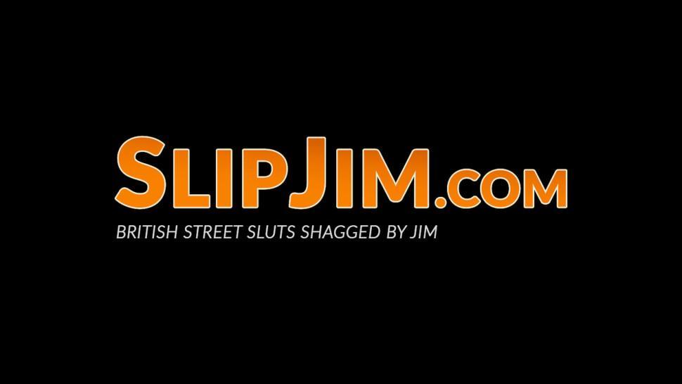 SLIP JIM - Glamorous English rose has her tight pussy banged