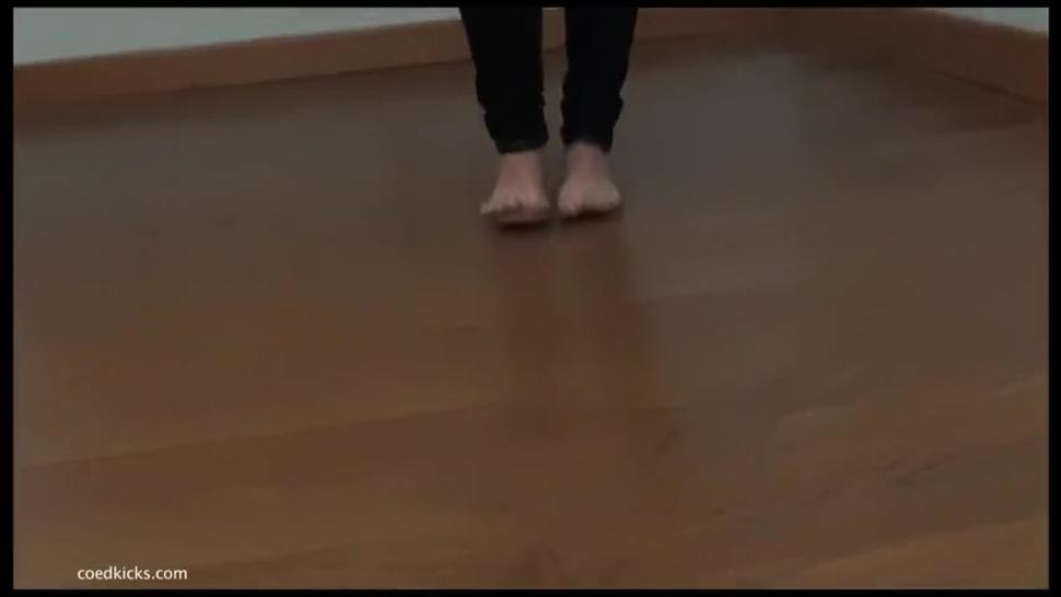 Ari's Karate Feet