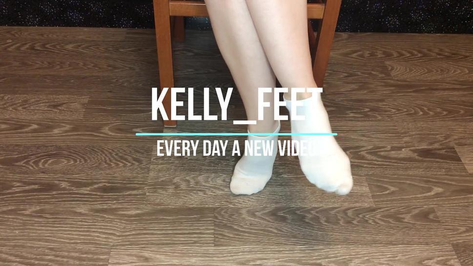 Screw Girl White Sock, Sockjob And Pov Show Socks, Smell Socks And Domination