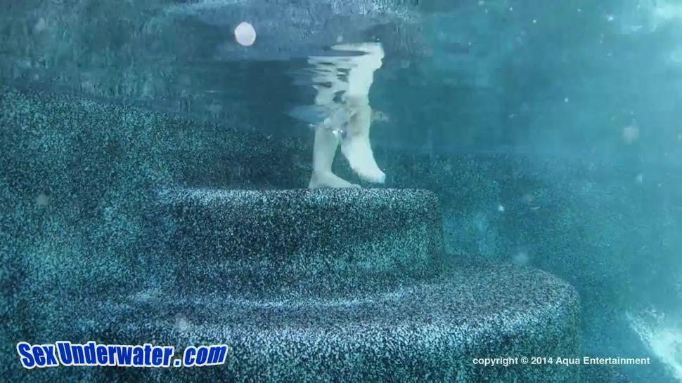 Underwater Lesbian Action - Callie Calypso