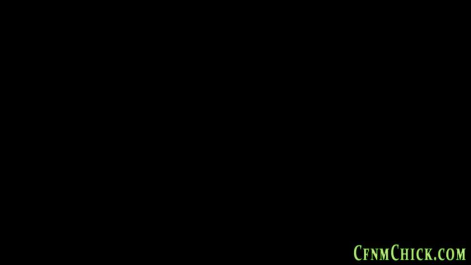 CFNM CHICK - Cock stroking cfnm brits