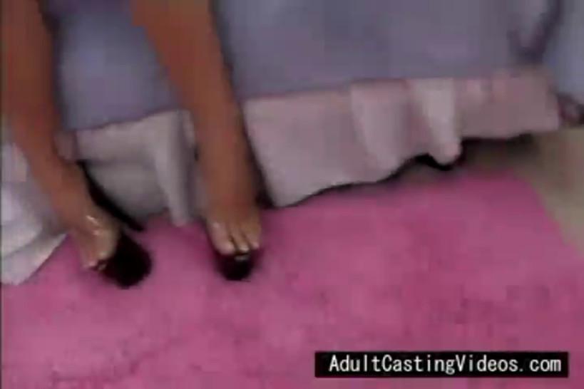 Pink Skirt, White Face