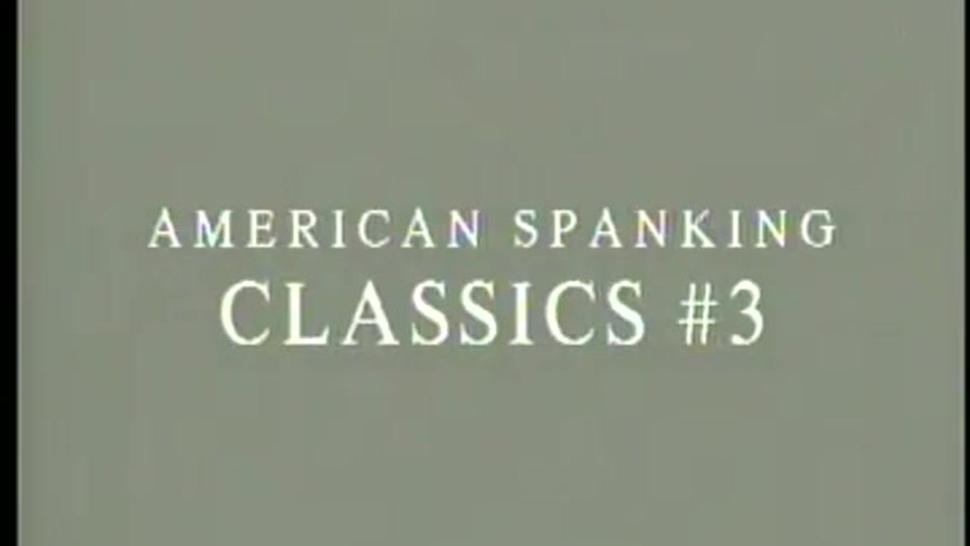 Amateur/classic american spanking